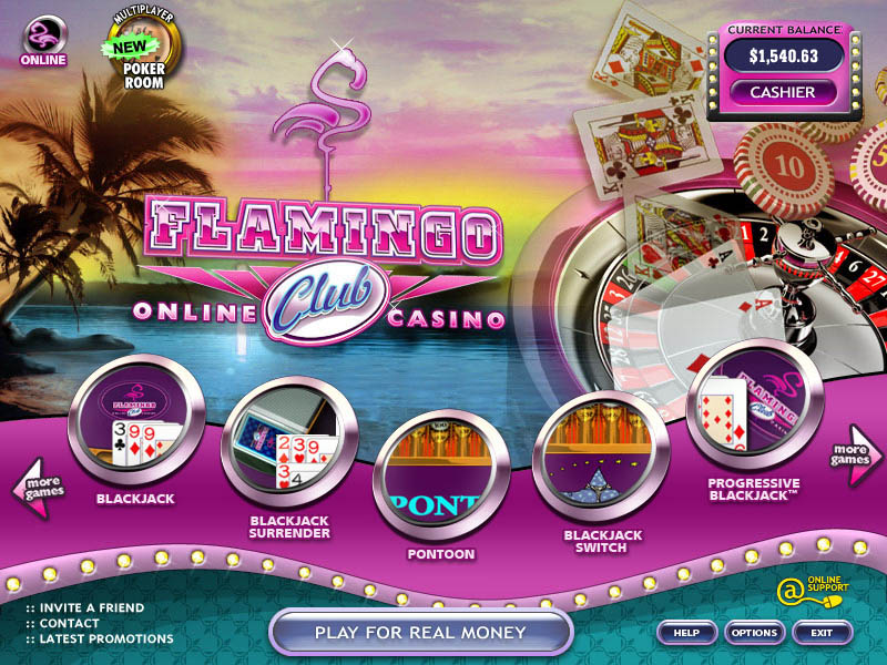 flamingo club casino no deposit bonus code