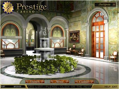 prestige казино